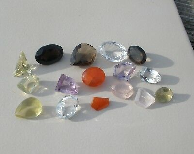 Gem Mix Large Natural Loose Faceted Gems 200 Carat Parcel Lot