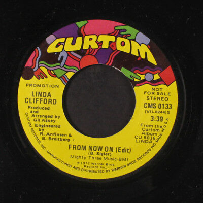 LINDA CLIFFORD: From Now On (edit) / Mono 45 (dj, 70s Soul) Soul