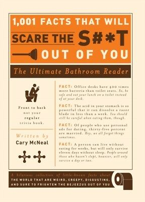 1,001 Facts that Will Scare the S#*T Out of You (Paperback), McNe...
