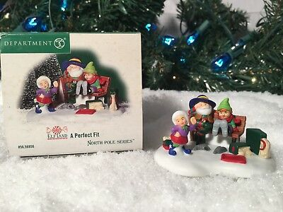 New Department 56 North Pole Series A Perfect Fit #56856 Elf Land