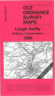 Old Ordnance Survey Map Lough Swilly Derry/londonderry Fahan Rathmullan 1900