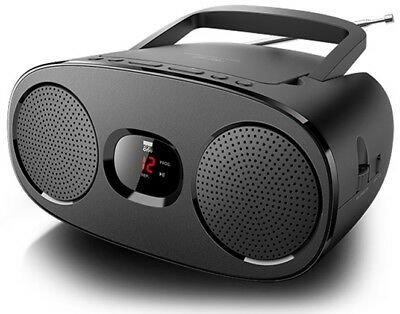 New One RD 306 Stereo UKW Radio mit CD Player LED Display AUX In Teleskopantenne