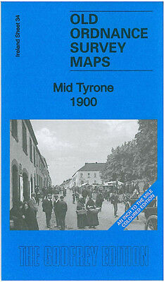 Old Ordnance Survey Map Mid Tyrone 1900 Donaghmore Pomeroy Beragh Six Mile Cross
