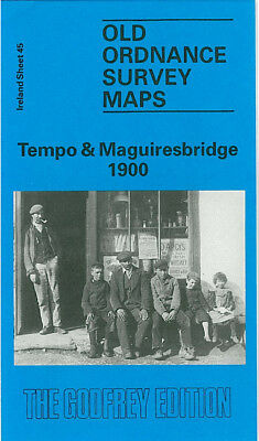 Old Ordnance Survey Map Tempo Maguiresbridge 1900 Enniskillen Trillick Creagh