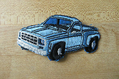 old chevrolet chevy short box regular cab pick up truck vtg 80's auto patch