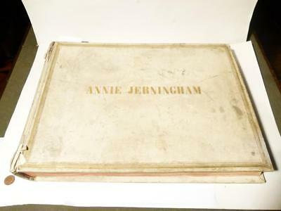 1875 Annie Lady Jerningham Italy Grand Tour Vellum 200 Photo Album Honeymoon