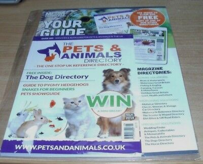 The Pets & Animals Directory 2018 Issue; Guide to Pygmy Hedgehogs, Snakes for Be