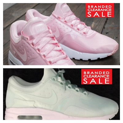 c1c019abbe BNIB NEW WOMEN Nike Air Max Zero SE Pink Green Igloo Size 4 5 6 uk ...