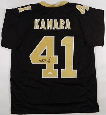 Alvin Kamara Autographed Custom Saints Pro Style Jersey Jsa W Authenticated 9abc9f884