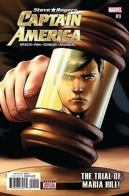 CAPTAIN AMERICA STEVE ROGERS #9, New, First print, Marvel NOW (2016)