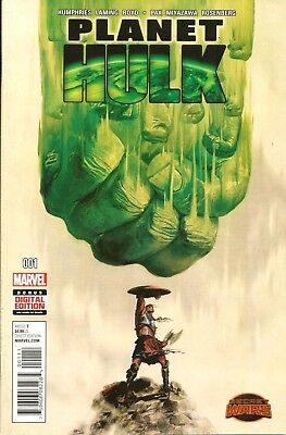 Planet Hulk # 1 / Secret Wars / Marvel Comics / Jul 2015 / 1St Print / N/m