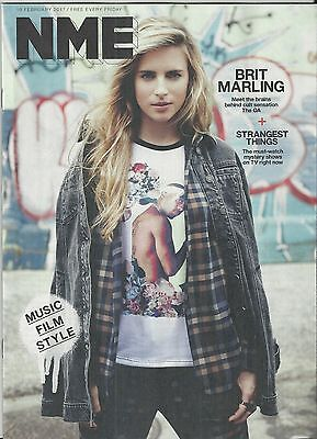 NME Magazine - 10 February 2017 - Brit Marling cover/Big Sean