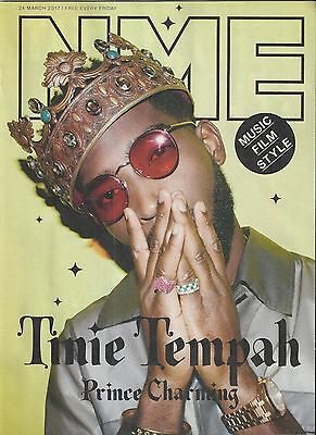 NME Magazine - 24 March 2017 Tinie Tempah Cover & Interview/Scarlett Johansson