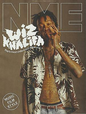 NME - 17 June 2016 Wiz Khalifa Cover/The Kills/Jake Bugg/Red Hot Chilli Peppers