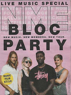 NME - 6 November 2015 -  Bloc Party Cover & Interview /Live Music Special