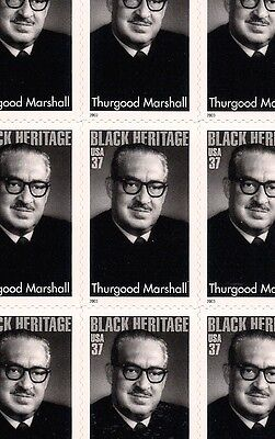 2003 - THURGOOD MARSHALL - #3746 Full Mint -MNH- Sheet of 20 Postage Stamps