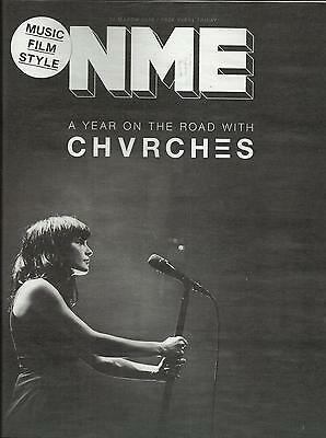 NME - 11 March 2016 - Chvrches Cover/Alessia Cara/Macklemore
