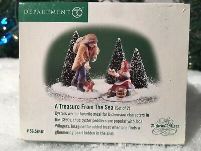 New Department 56 Dickens Village Series A Treasure From The Sea #58461