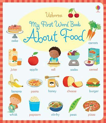 My First Word Book About Food by Caroline Young - Hardcover - NEW - Book
