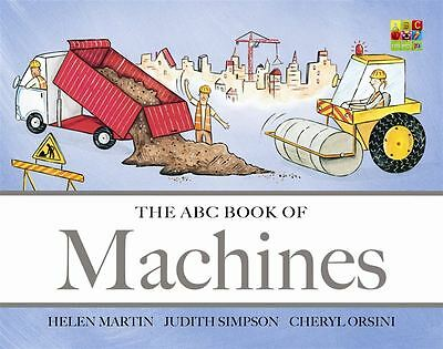 The ABC Book of Machines by Judith Simpson - Hardcover - NEW - Book