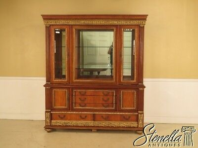 29136: Italian Made French Louis XVI Style China Cabinet