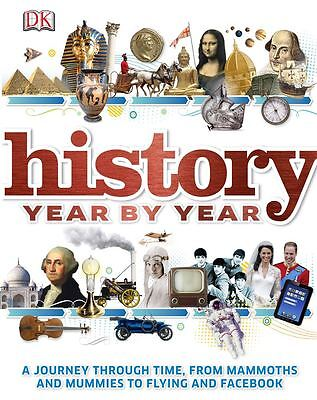 History Year By Year by Kindersley Dorling - Hardcover - NEW - Book