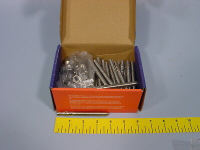 """Box of 50 Powers 07315 Stainless Steel Wedge Anchor 3/8"""" X 3-3/4"""" Power-Stud"""