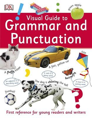 Visual Guide To Grammar And Punctuation by DK - Paperback - NEW - Book