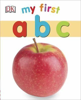 My First: ABC by DK - Board Book - NEW