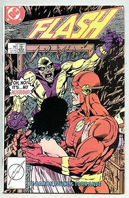 Flash #5-1987 vf- Speed Demon Wally West