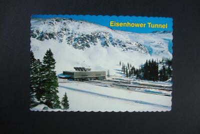 796) Loveland Pass Colorado The Eisenhower Memorial Tunnel Was Completed In 1973