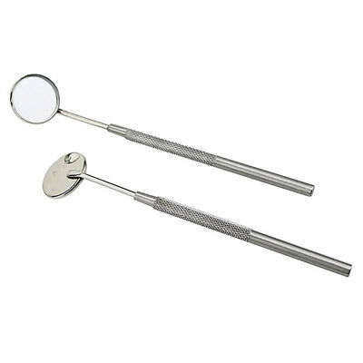1Pc Stainless Steel Dentist Teeth Inspection Hygiene Picks Mirror Dental Tool