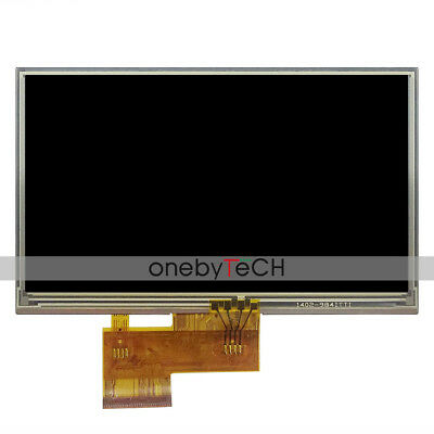 """AUO 5"""" A050FW03 TFT LCD SCREEN DISPLAY WITH TOUCH SCREEN For TomTom XXL, IQ Live"""