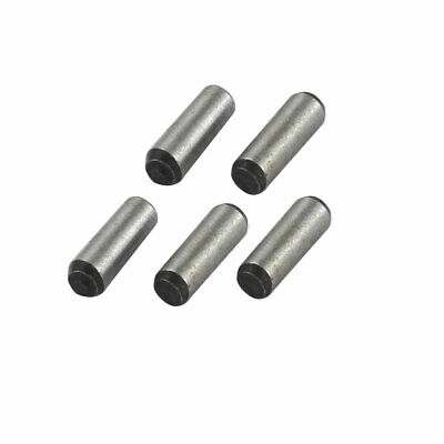 5 Pcs Carbon Steel GB117 2mm Small End Diameter 6mm Length Taper Pin