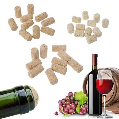 10pcs/lot Straight Bottle Wood Corks Stoppers Wine Bottle Plug New