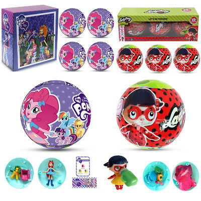 Surprise Dolls Blind Ball Outrageous 7 Layers Miraculous Ladybug My Little Pony