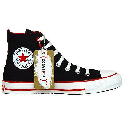 Converse All Star Chucks Scarpe 1y489 UE 37 UK 45 Nero Black Limited Edition