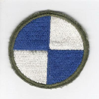 WW 2 US Army 4th Corps Patch Inv# V719
