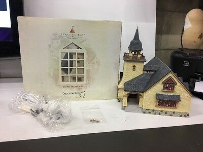 SEASONS BAY FIRST EDITION CHAPEL ON THE HILL Large Church #53302 Dept 56