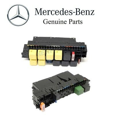 For Mercedes Set of Front Left & Right Fuse Box Central Electronics Genuine