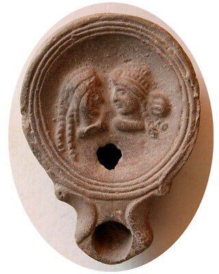 PCW-AN306-ROMAN EMPIRE. Circa 2nd Century AD. Terracotta Oil Lamp.