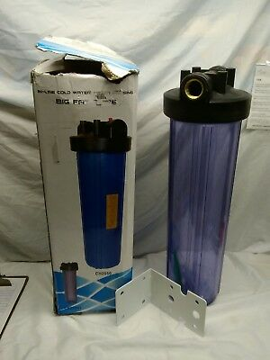 "In-Line Cold Water Filter Housing Big Fat Type 20"" Ch2050"