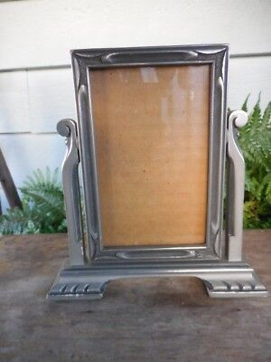 "Vintage Art Deco Era Swing Tilt Frame for 3.5"" x 5.5"" Photo Picture"
