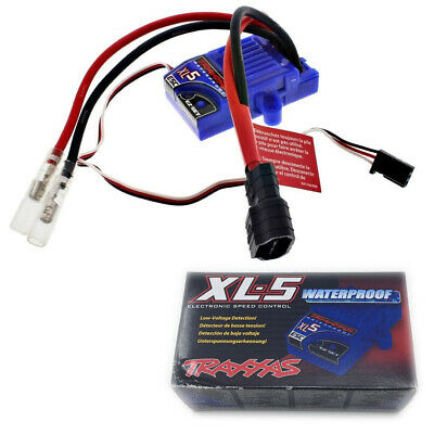 Traxxas 3018R XL-5 Electronic Speed Control TRA3018R land version, low-voltage detection, fwd//rev//brake Waterproof