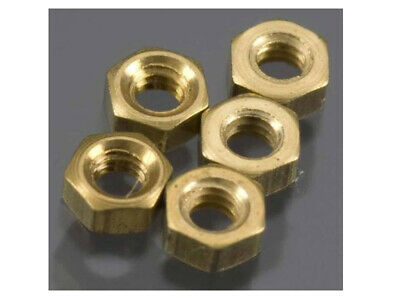 NEW Woodland Scenics H882 Hex Nuts 0-80 (5pcs) *SHIPS FREE*