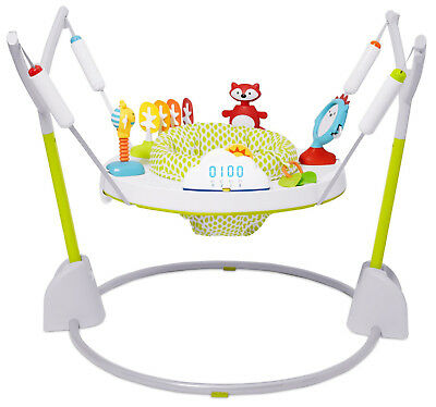 Skip Hop Explore & More Jumpscape Foldaway Activity Center Baby Jumper White NEW