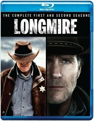 LONGMIRE COMPLETE FIRST SECOND SEASONS 1 2 New Blu-ray Warner Archive Collection