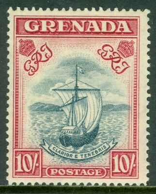 EDW1949SELL : GRENADA 1938 Stanley Gibbons #163a Steel Blue. Nice shade Cat £225