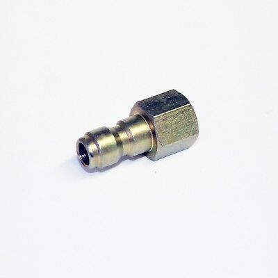 "Pressure Washer 1/4"" Female Screw Thread to Quick Release 11.6mm Male Coupling"