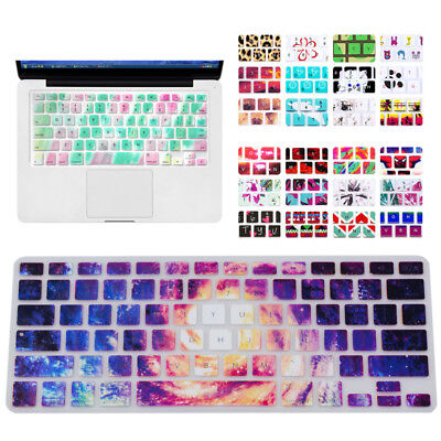 """Keyboard Cover Silicone Skin for MacBook Pro/Pro 13"""" 15"""" 17"""" Silcion Flag"""